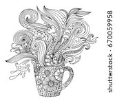 Coloring Page For Adults With A ...