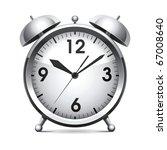 metal alarm clock.vector. | Shutterstock .eps vector #67008640