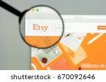 milan  italy   may 7  2017 ... | Shutterstock . vector #670092646