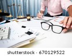business man discussing very...   Shutterstock . vector #670129522