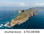 cape point and cape of good... | Shutterstock . vector #670138588