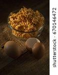 Small photo of Asian Ramen Ramen Raspberry Noodles, Still Life photo