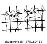 vector illustration of... | Shutterstock .eps vector #670160416