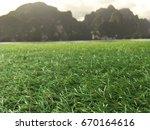 recreational floating football... | Shutterstock . vector #670164616