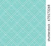 vector turquoise pattern.... | Shutterstock .eps vector #670173268