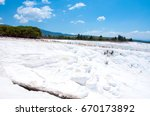 Thermal Springs And Terrace In...