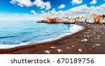 tenerife beach scenery in spain.... | Shutterstock . vector #670189756