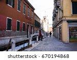 venice  italy  11 january  2017 ... | Shutterstock . vector #670194868