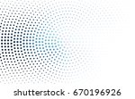 light blue vector pattern of... | Shutterstock .eps vector #670196926