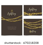 vector string lights   Shutterstock .eps vector #670218208