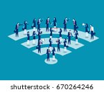communication. business people... | Shutterstock .eps vector #670264246