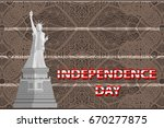 independence day united states. ...   Shutterstock .eps vector #670277875