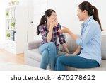beauty relaxing female friends... | Shutterstock . vector #670278622