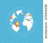 global market  global business  ...   Shutterstock .eps vector #670341658