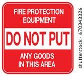 emergency exit  fire... | Shutterstock .eps vector #670343326
