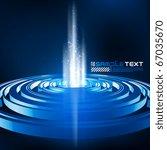 3d vector digital art | Shutterstock .eps vector #67035670