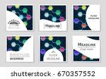 abstract vector layout...   Shutterstock .eps vector #670357552