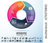 infographics design template... | Shutterstock .eps vector #670370842
