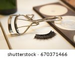 fixation forceps and false... | Shutterstock . vector #670371466
