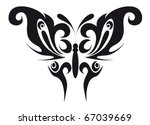 abstract tattoo   a magic... | Shutterstock .eps vector #67039669