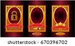 vector cartoon background for...   Shutterstock .eps vector #670396702