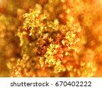 autumnal background texture of... | Shutterstock . vector #670402222