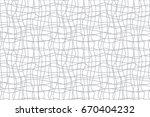 confusing lines watermark... | Shutterstock .eps vector #670404232