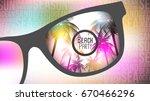summer beach party flyer design ...   Shutterstock .eps vector #670466296