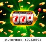 big win slots 777 banner casino ... | Shutterstock .eps vector #670525936