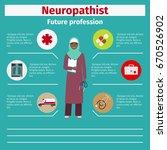 future profession neuropathist... | Shutterstock .eps vector #670526902