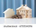 money growth concept saving to...   Shutterstock . vector #670534396