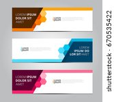 vector abstract design banner... | Shutterstock .eps vector #670535422