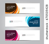 vector abstract design banner... | Shutterstock .eps vector #670535428