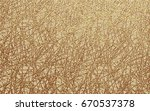pattern with gold stripes.... | Shutterstock .eps vector #670537378