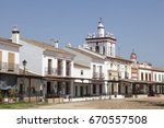 el rocio  spain   june 2  2017  ... | Shutterstock . vector #670557508