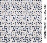 vector tie dye seamless pattern.... | Shutterstock .eps vector #670557532
