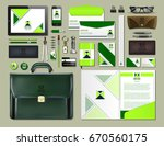 business corporate identity... | Shutterstock .eps vector #670560175