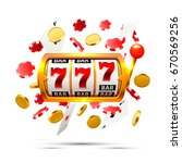 big win slots 777 banner casino ... | Shutterstock .eps vector #670569256