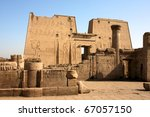 temple of horus  egypt | Shutterstock . vector #67057150