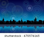 a vector illustration of... | Shutterstock .eps vector #670576165