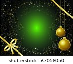 christmas background | Shutterstock .eps vector #67058050