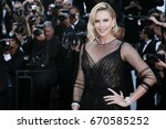 cannes  france   may 23  ... | Shutterstock . vector #670585252