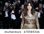 cannes  france   may 23  ... | Shutterstock . vector #670585336