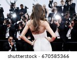 cannes  france   may 22  izabel ... | Shutterstock . vector #670585366