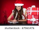 Beautiful Santas Helper With...
