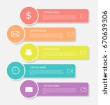 infographic templates for... | Shutterstock .eps vector #670639306