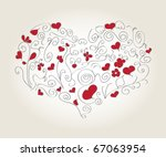 heart | Shutterstock .eps vector #67063954
