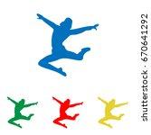 Dancer Sign Illustration....