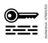 keywords icons   Shutterstock .eps vector #670651522