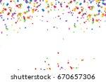 Bright Colorful Vector Confett...